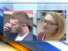 Man, woman stole tires, speakers from Walmart