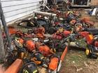 Dozens of stolen chainsaws found in Columbus