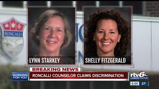 Second Roncalli counselor claims she is being discriminated against for…