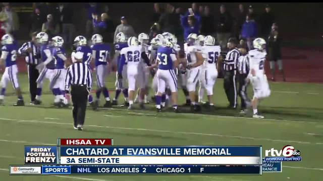 HIGHLIGHTS- Indiana High School 2018 Semi-State games