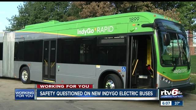 IndyGo electric bus safety questioned after Alburquerque points out…