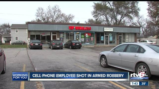 Person shot during attempted robbery on Indy-s West side