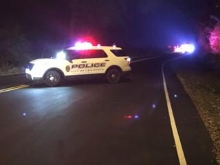 One killed in single-vehicle crash near Lawrence