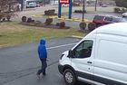 Police searching for parking lot carjacker