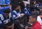 Colts & LIDS team up to give kids new shoes