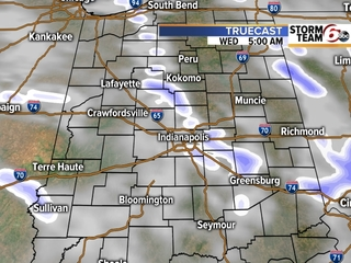 TIMELINE: When snow showers will end near you
