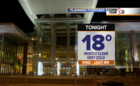 Clear skies mean quick drop in evening temps
