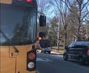 Drivers caught on cam ignoring Carmel bus arm