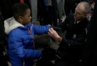 Firefighters help keep kids warm this winter