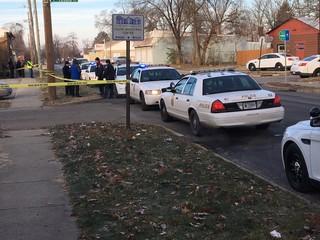 Man found dead near running vehicle in NE Indy